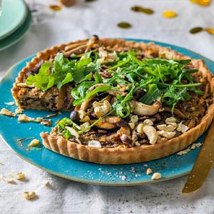 mushroom-cashew-tart